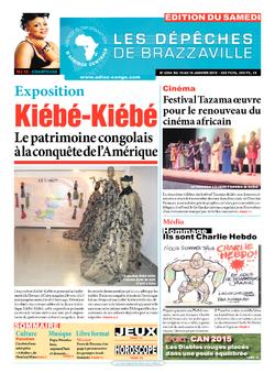 Les Dépêches de Brazzaville : Édition du 6e jour du 10 janvier 2015