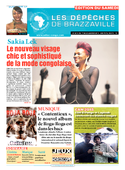 Les Dépêches de Brazzaville : Édition du 6e jour du 17 janvier 2015