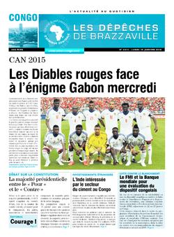 Les Dépêches de Brazzaville : Édition brazzaville du 19 janvier 2015