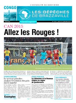Les Dépêches de Brazzaville : Édition brazzaville du 22 janvier 2015