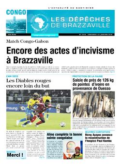 Les Dépêches de Brazzaville : Édition brazzaville du 23 janvier 2015