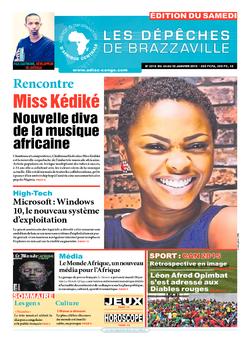 Les Dépêches de Brazzaville : Édition du 6e jour du 24 janvier 2015
