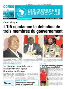 Les Dépêches de Brazzaville : Édition brazzaville du 29 janvier 2015