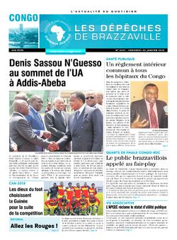 Les Dépêches de Brazzaville : Édition brazzaville du 30 janvier 2015