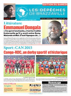 Les Dépêches de Brazzaville : Édition du 6e jour du 31 janvier 2015