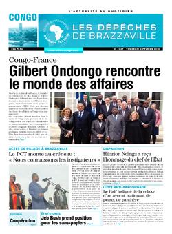 Les Dépêches de Brazzaville : Édition brazzaville du 06 février 2015