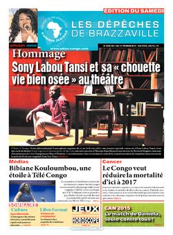 Les Dépêches de Brazzaville : Édition du 6e jour du 07 février 2015