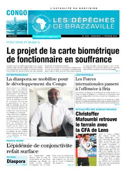 Les Dépêches de Brazzaville : Édition brazzaville du 11 février 2015