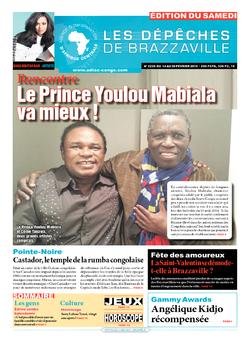 Les Dépêches de Brazzaville : Édition du 6e jour du 14 février 2015