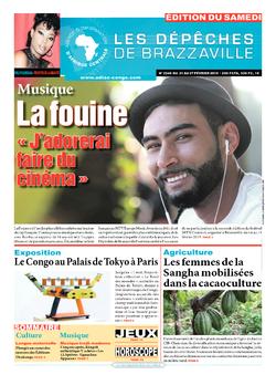 Les Dépêches de Brazzaville : Édition du 6e jour du 21 février 2015