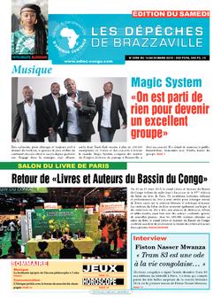 Les Dépêches de Brazzaville : Édition du 6e jour du 14 mars 2015