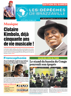 Les Dépêches de Brazzaville : Édition du 6e jour du 21 mars 2015