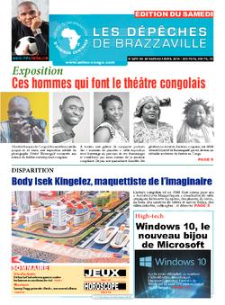 Les Dépêches de Brazzaville : Édition du 6e jour du 28 mars 2015