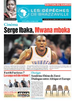 Les Dépêches de Brazzaville : Édition du 6e jour du 04 avril 2015
