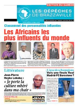 Les Dépêches de Brazzaville : Édition du 6e jour du 25 avril 2015