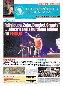 Les Dépêches de Brazzaville : Édition du 6e jour du 02 mai 2015