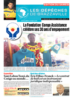 Les Dépêches de Brazzaville : Édition du 6e jour du 09 mai 2015