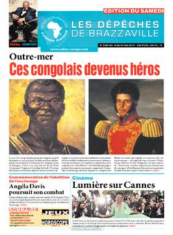 Les Dépêches de Brazzaville : Édition du 6e jour du 16 mai 2015