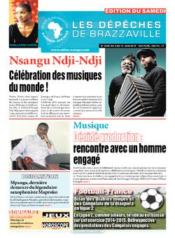 Les Dépêches de Brazzaville : Édition du 6e jour du 06 juin 2015