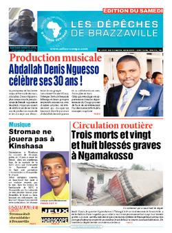 Les Dépêches de Brazzaville : Édition du 6e jour du 13 juin 2015