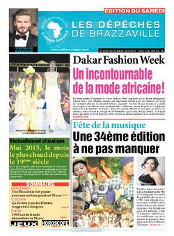 Les Dépêches de Brazzaville : Édition du 6e jour du 20 juin 2015