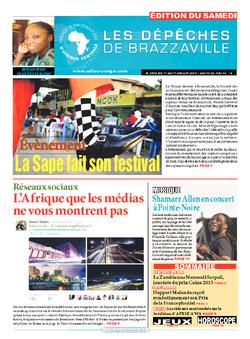 Les Dépêches de Brazzaville : Édition du 6e jour du 11 juillet 2015