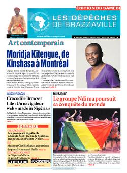 Les Dépêches de Brazzaville : Édition du 6e jour du 25 juillet 2015