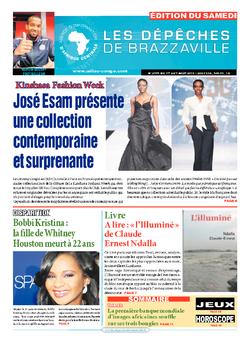 Les Dépêches de Brazzaville : Édition du 6e jour du 01 août 2015