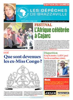 Les Dépêches de Brazzaville : Édition du 6e jour du 08 août 2015