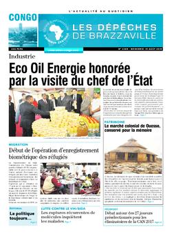 Les Dépêches de Brazzaville : Édition brazzaville du 19 août 2015