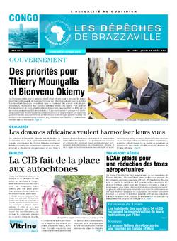 Les Dépêches de Brazzaville : Édition brazzaville du 20 août 2015