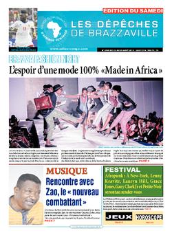 Les Dépêches de Brazzaville : Édition du 6e jour du 22 août 2015