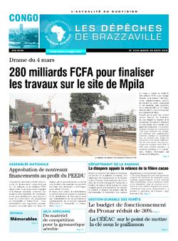 Les Dépêches de Brazzaville : Édition brazzaville du 25 août 2015