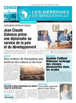 Les Dépêches de Brazzaville : Édition brazzaville du 26 août 2015