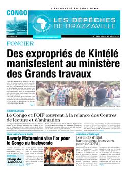 Les Dépêches de Brazzaville : Édition brazzaville du 27 août 2015