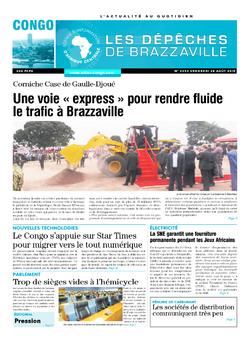 Les Dépêches de Brazzaville : Édition brazzaville du 28 août 2015