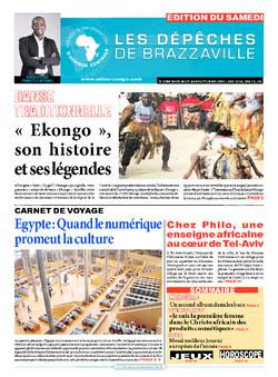 Les Dépêches de Brazzaville : Édition du 6e jour du 29 août 2015