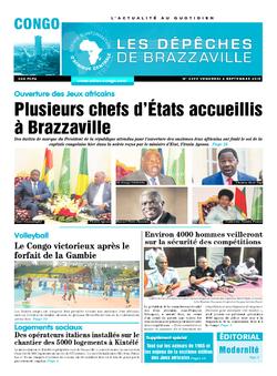 Les Dépêches de Brazzaville : Édition brazzaville du 04 septembre 2015
