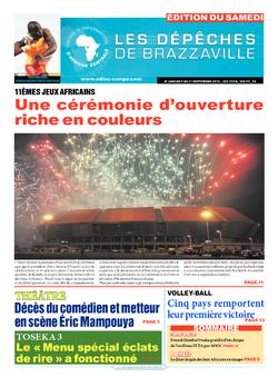 Les Dépêches de Brazzaville : Édition du 6e jour du 05 septembre 2015