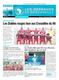 Les Dépêches de Brazzaville : Édition brazzaville du 07 septembre 2015