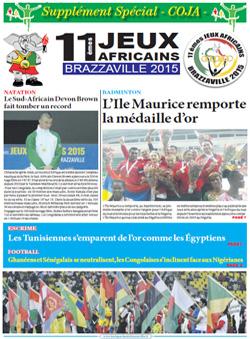 Les Dépèches de Brazzaville : Edition spéciale du 07 septembre 2015