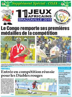 Les Dépèches de Brazzaville : Edition spéciale du 08 septembre 2015