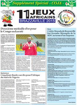 Les Dépèches de Brazzaville : Edition spéciale du 09 septembre 2015