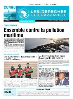 Les Dépêches de Brazzaville : Édition brazzaville du 17 septembre 2015
