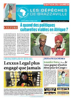 Les Dépêches de Brazzaville : Édition du 6e jour du 19 septembre 2015