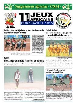 Les Dépêches de Brazzaville : Édition brazzaville du 20 septembre 2015