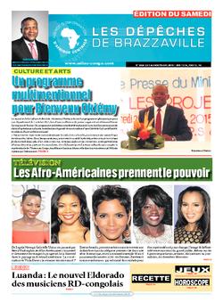 Les Dépêches de Brazzaville : Édition du 6e jour du 03 octobre 2015