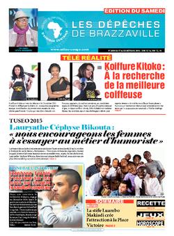 Les Dépêches de Brazzaville : Édition du 6e jour du 17 octobre 2015