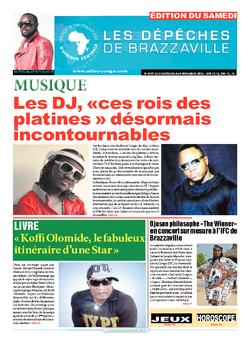 Les Dépêches de Brazzaville : Édition du 6e jour du 31 octobre 2015