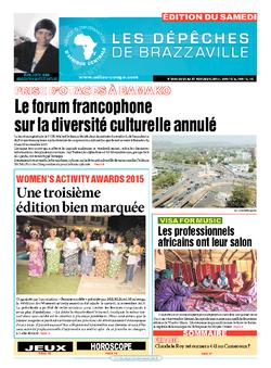 Les Dépêches de Brazzaville : Édition du 6e jour du 21 novembre 2015